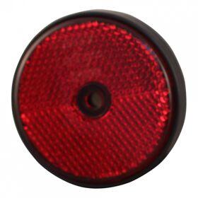 Reflector rond 60 mm, rood Radex Profi E-keur