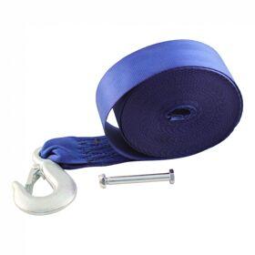 Lierband voor handlier/bootlier 9 m BLAUW