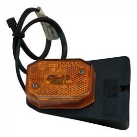 Zijmarkering Oranje Aspock Flexipoint op voetje 0.5m kabel 31-6569-017